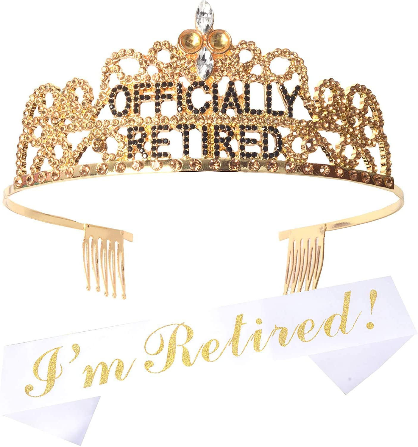 A Retirement Crown Or Sash