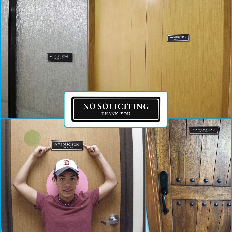 No-Thank-You Door Sign
