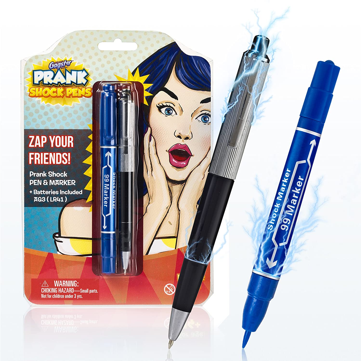 Shock Pen and Marker Prank