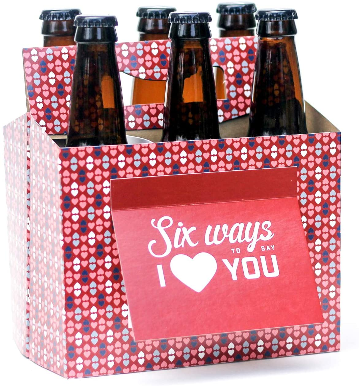 Six Ways To Say I Love You Beer Greeting Card Box