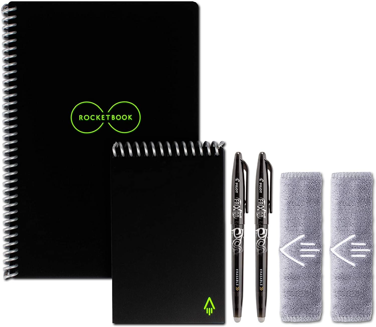 Smart Reusable Rocketbook Notebook Set