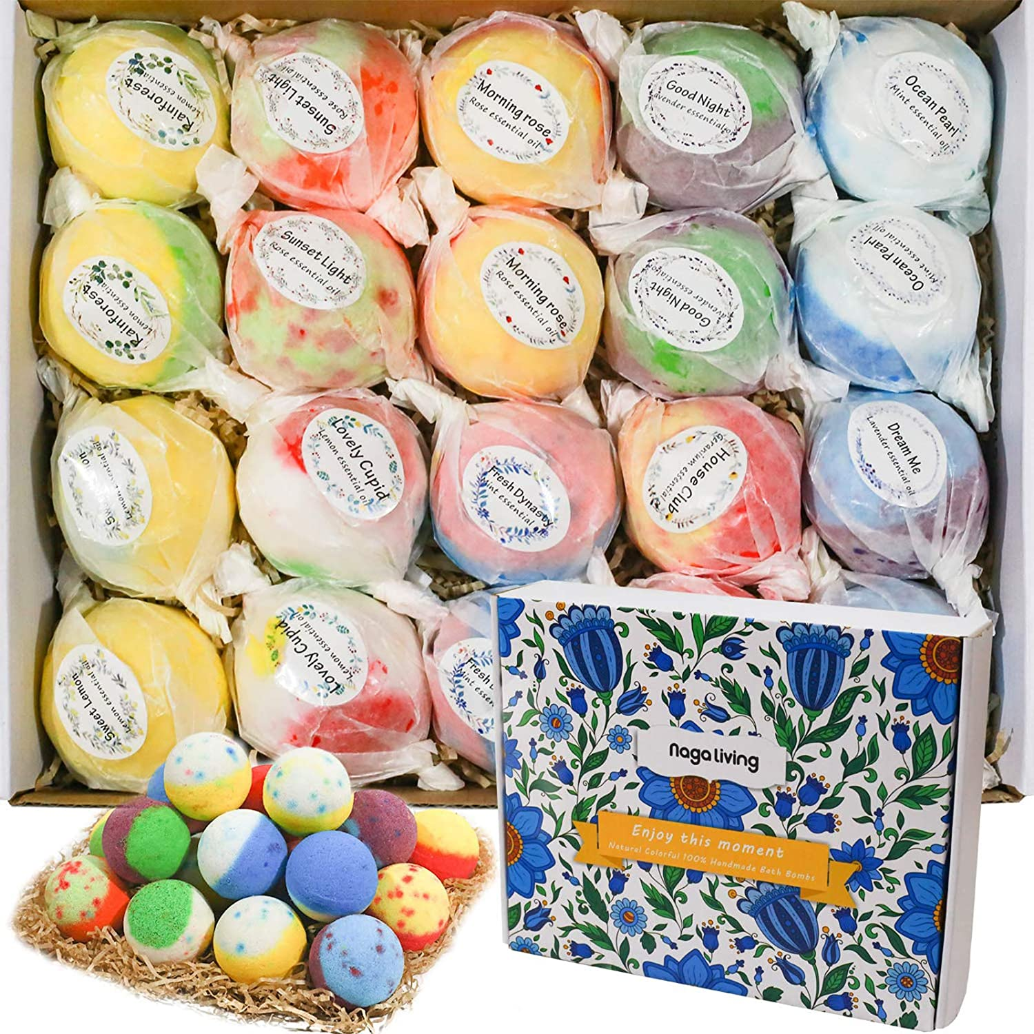 Colorful Bath Bomb Set
