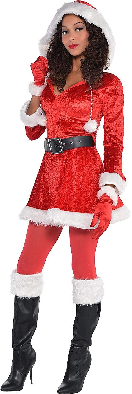 Amscan Sassy Red Santa Costume for Women