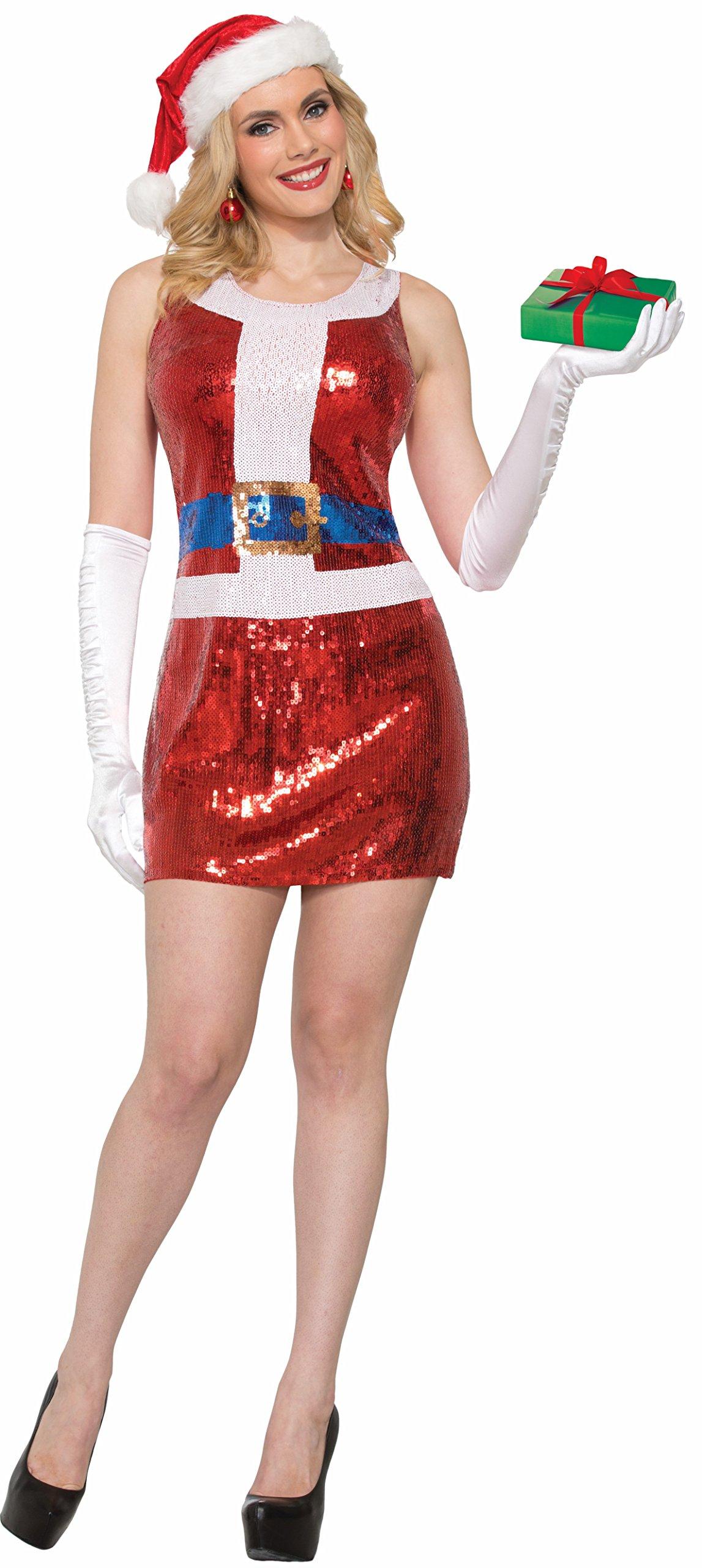 Forum Novelties Child Sequin Holiday Dress